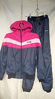Детский спортивный костюм на флисе оптом 122-140
