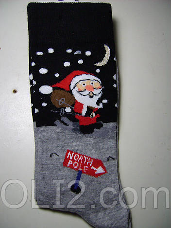 Мужские новогодние носки EKMEN