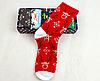 Мужские рождественские новогодние носки с оленями
