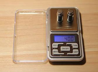 Високоточні електронні ювелірні кишенькові ваги до 200(0,02) Австрія