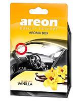 Освежитель воздуха AREON BOX Vanilla под сидение ABC06 (ABC06 (6/36))