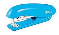 Степлер 20 листов пластиковый L3013-05 голубой Leo