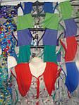 Халаты летние с однотонными вставками, фото 2