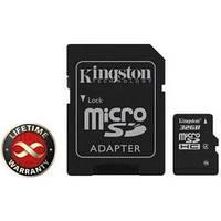 Карта памяти 32Gb microSDHC class 4 Kingston (SDC4/32GB)