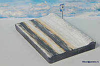 Диорама в масштабе 1/43 Зимняя дорога, фото 1