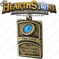"Брелок Hearthstone - ""The Coin"" + подарочная упаковка!, фото 1"