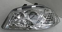 Seat Ibiza оптика передняя хром LED