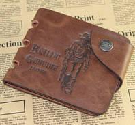 Мужской кошелек из натуральной кожи Bailini