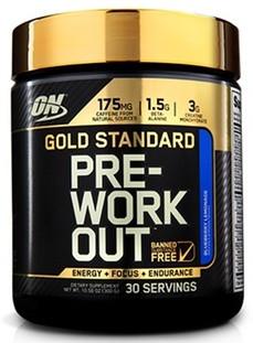 Optimum Gold Standard Pre-Workout 300g