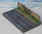 Подставка диарама миниатюра Летняя жара в городе, масштаб 1:43, фото 2