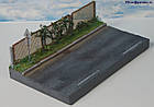 Подставка диарама миниатюра Летняя жара в городе, масштаб 1:43, фото 7
