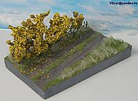 Диорама миниатюра Золотая осень в масштабе 1:43, фото 1