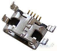 (Коннектор) Aksline Разъем зарядки Alcatel 4030/ 4030D/ 5020/ 5020D/ 5036X/ 6010/ 6010D/ 6030/ 6030D/ 6036Y/ 6037Y/ 8000/ 8000D/ 8008/ 8008D/ Beetle/