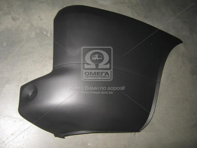 Угольник бампера заднего правый FIAT DOBLO (Фиат Добло) 2005-09 (пр-во TEMPEST)
