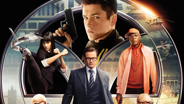 Футболки Kingsman Секретная служба Kingsman The Secret Service