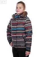 Подростковая горнолыжная куртка ROXY JET SKI GIRL JK ANTHRACITE