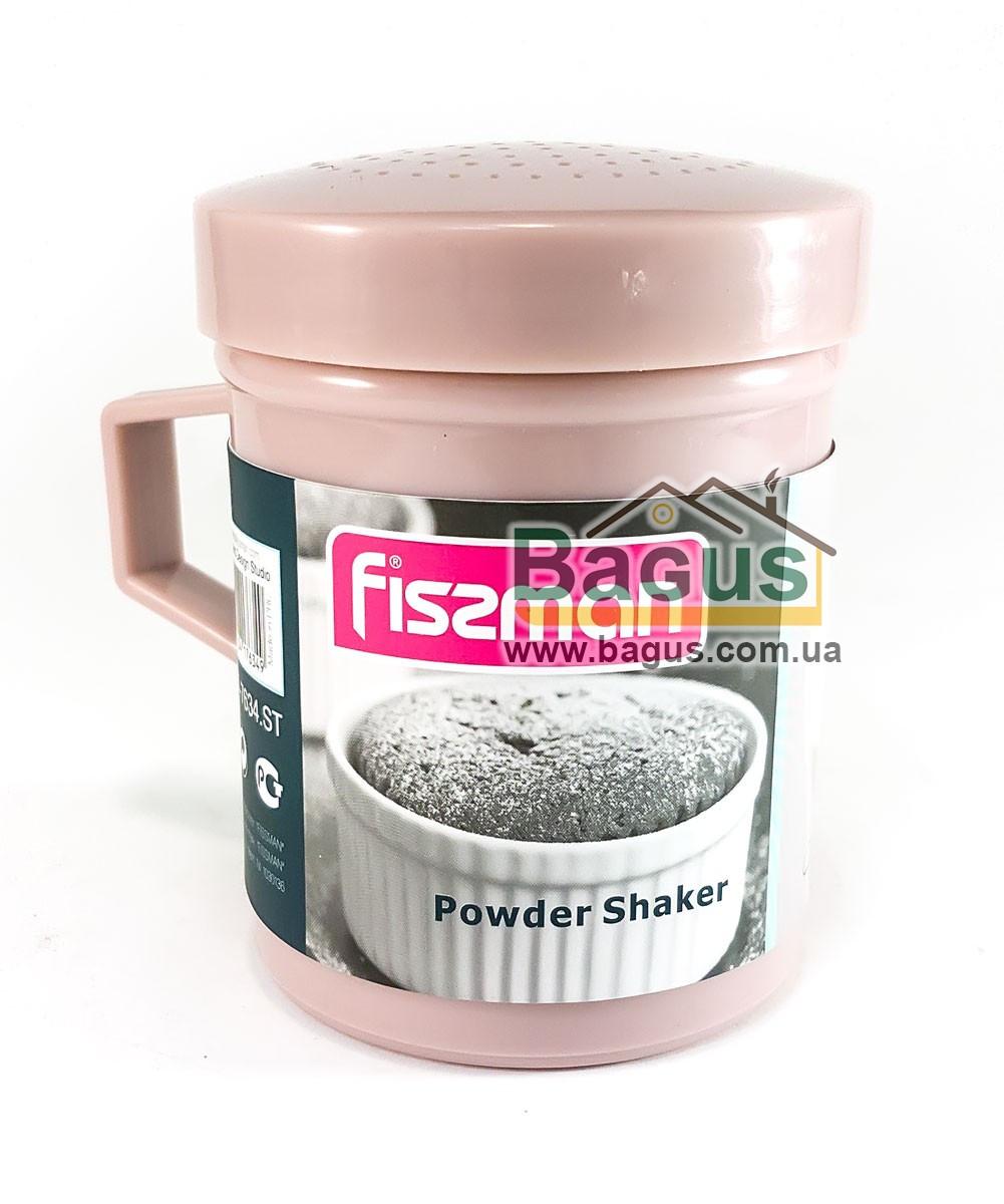 Пластиковый шейкер для сахарной пудры Fissman (AY-7634.ST)