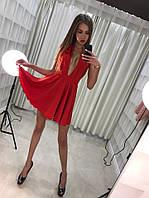 Платье с открытым декольте, р.УН код 1439Я