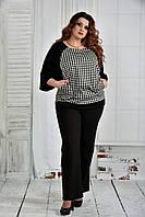 Модная блузка большого размера ( разные цвета)