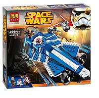 Конструктор Звездные войны Star Wars Истребитель Энакина Bela 10375 (аналог LEGO Star Wars 75087), 369 деталей