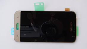 Дисплей с сенсором Samsung J120 Galaxy J1 Gold оригинал, GH97-18224B, фото 3