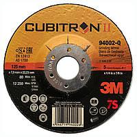 3M 94002-Q - Зачисной круг по металлу Cubitron II T27, 125х22,23х7,0 мм