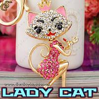 """Брелок Кошечка - """"Lady Cat"""""""