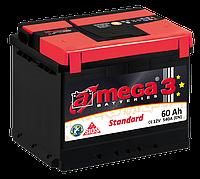 Аккумулятор Daewoo Nexia (Део Нексия) a-mega (Амега) 60 Ач