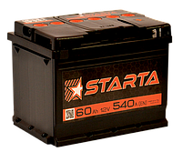 Аккумулятор Daewoo Nexia (Део Нексия) STARTA (Старта) 60 Ач