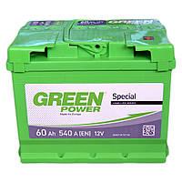 Аккумулятор Daewoo Nexia (Део Нексия) Green Power (Грин павер) 60 Ач