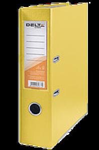 Папка регистратор DELTA жёлтого цвета (D1712-03)