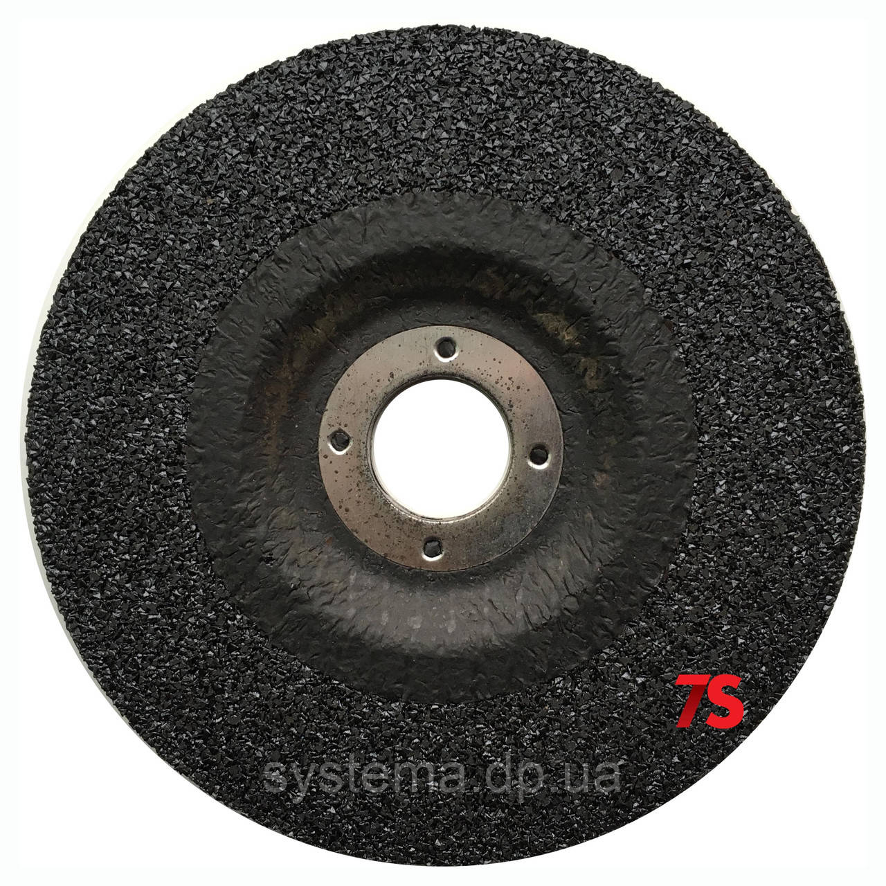 3M 51747 - Зачисной круг по металлу Silver T27, 115х22,23х7,0 мм