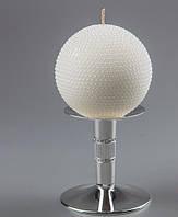 Свеча круглая свадебная 10 см