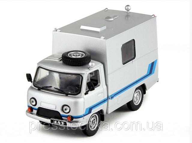 Автомобіль на Службі №38 УАЗ-3303 ПРТС Телебачення | Модель в масштабі 1:43 | DeAgostini