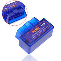 Сканер Bluetooth V2.1, блютуз адаптер OBD2 ELM327 для диагностики авто, Хит продаж