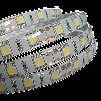 Очень яркая светодиодная лента, белая, в силиконе! 5050 smd, 300 Led - белая! 5 метров! LED лента!, Скидки