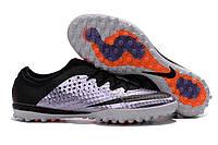 Сороконожки Nike MercurialX Finale TF Urban Lilac/Black/Bright Mango