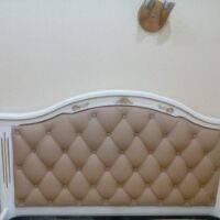 """Кровать с мягким изголовьем """"Виктория"""", фото 2"""