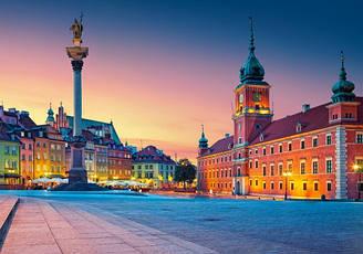 Пазлы Castorland Замковая площадь, Варшава., 500 элементов