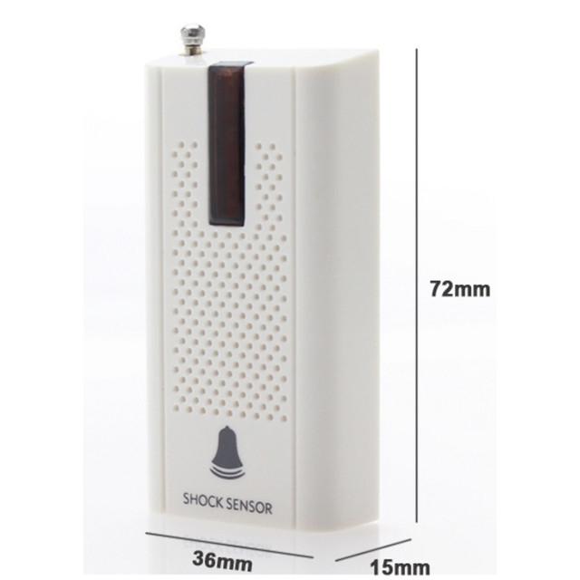 Внутренний беспроводной датчик вибрации для окна/двери 433МГц Smart Vib-1.