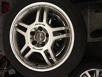 Диски разноширокие Mercedes AMG R17 5/112