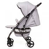 Детская прогулочная коляска 4BABY Smart Grey, фото 3