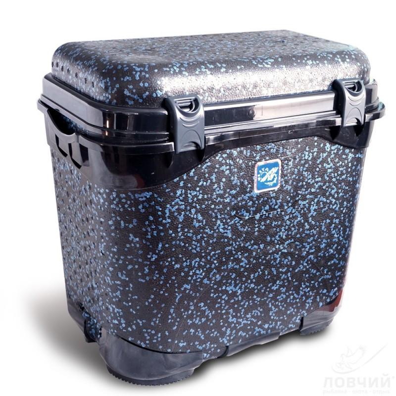 Ящик для зимней рыбалки ,Мягкое утепленное сиденье, Отсек для рыбы, Полиуритановое сидение,Нескользящее дно