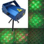 Лазерный-диско проектор YX-08 (фигуры+точки) - стробоскоп, лазер диско