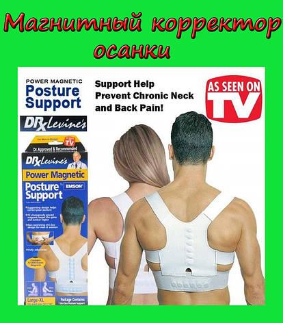 Магнитный корректор осанки EMSON Power Magnetic забудьте про боли в спине, фото 2