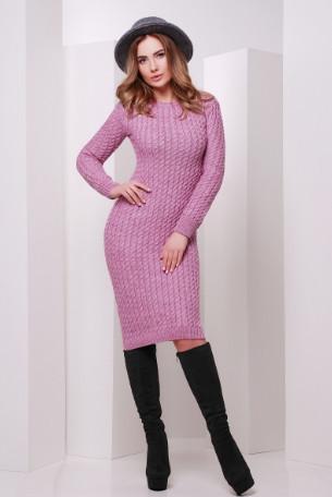 Подобные товары Женского облегающего платья приталенного вязаного Крис-1