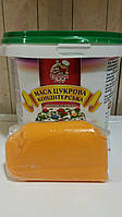 Мастика (сахарная паста) ТМ Добрик Оранжевая 1 кг