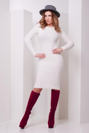 Подоные товары-3 Женского облегающего платья приталенного вязаное Крис-1