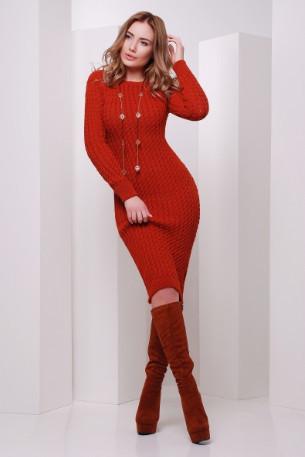 Подобные товары-5 Женского облегающего платья приталенного вязаного Крис-1