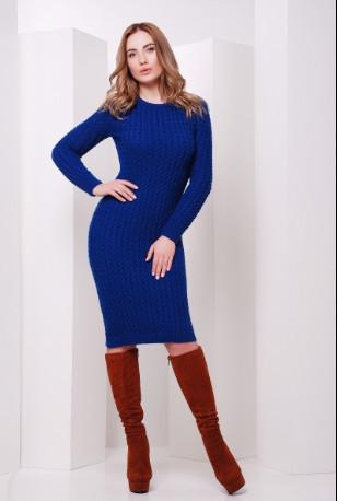 Подобные товары-7 Женского облегающего платья приталенного вязаного Крис-1